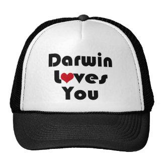 Darwin Lves You Trucker Hat