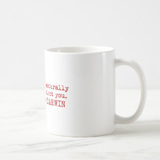 Darwin Classic White Coffee Mug