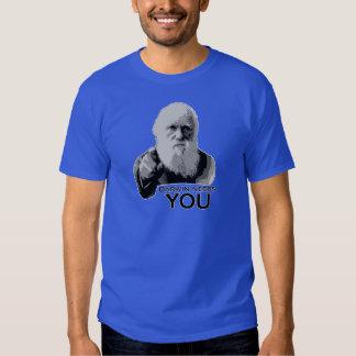 Darwin Needs You (dark colors) T-shirt