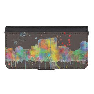DARWIN, NT SKYLINE - Wallet case iPhone 5 Wallets
