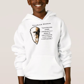 Darwin on Ignorance Hoodie