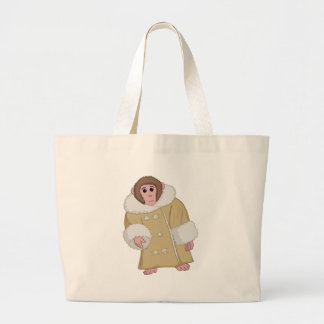 Darwin que Ikea Monkey Bolsa Tela Grande
