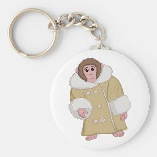 Darwin que Ikea Monkey Llavero Redondo Tipo Pin