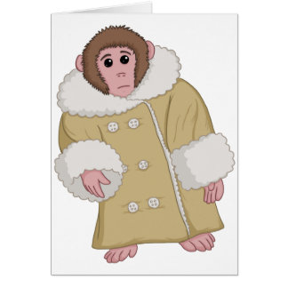 Darwin que Ikea Monkey Tarjeta De Felicitación