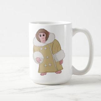 Darwin que Ikea Monkey Taza Básica Blanca