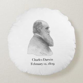 Darwin Round Pillow