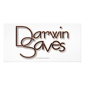 Darwin Saves Photo Card
