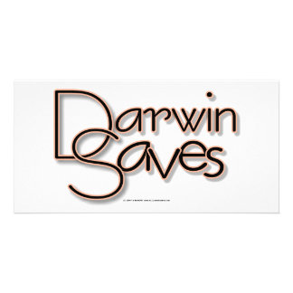 Darwin Saves Photo Greeting Card