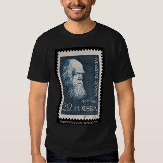 Darwin Says Evolution is Absurd Tee Shirt