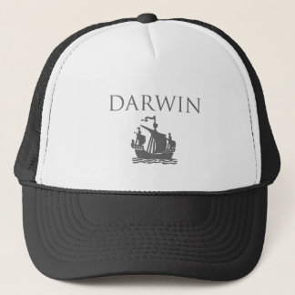 Darwin & Ship Trucker Hat