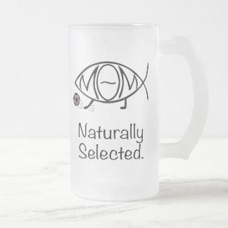 Darwin Soccer Mom Glass Beer Mug