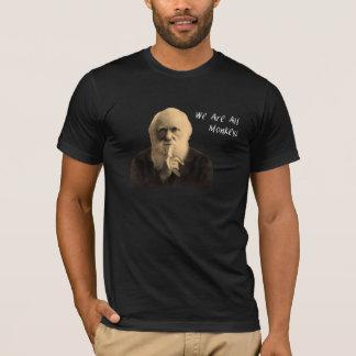 Darwin somos toda la camiseta de los monos