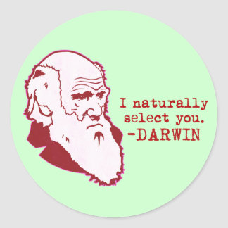 Darwin Classic Round Sticker