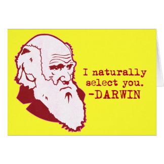 Darwin Tarjeta De Felicitación