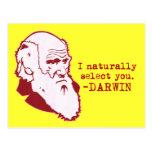 Darwin Tarjeta Postal