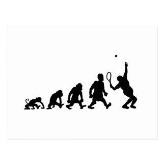 darwin tennis postcard
