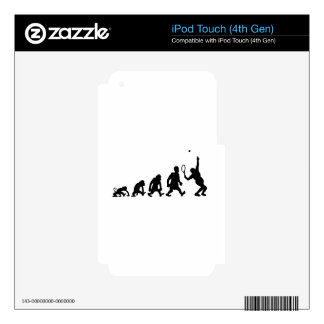 darwin tennis skins for iPod touch 4G