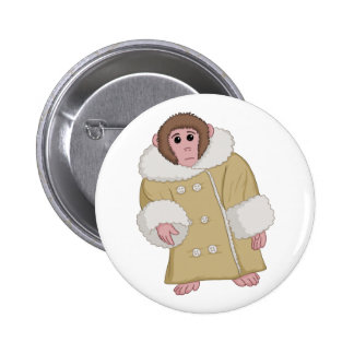Darwin the Ikea Monkey Pinback Button