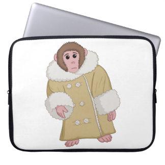 Darwin the Ikea Monkey Laptop Sleeves