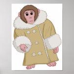 Darwin the Ikea Monkey Poster