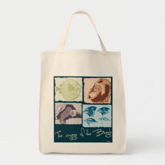 Darwin, The Voyage of the Beagle Tote Bags