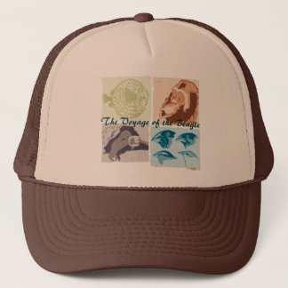Darwin, The Voyage of the Beagle Trucker Hat