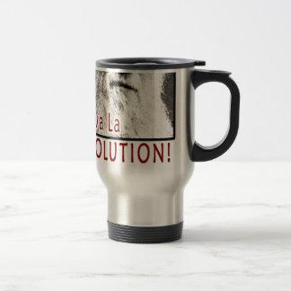 Darwin - Viva La Evolution! Travel Mug