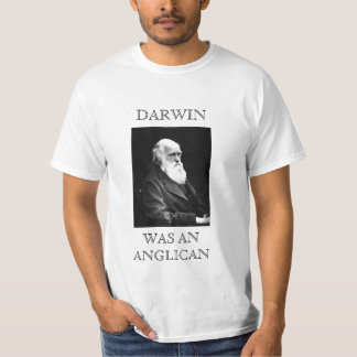 Darwin Was An Anglican Shirt