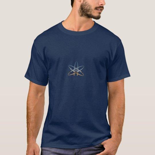 darwinatheist, atheist-symbol-altered-03a T-Shirt