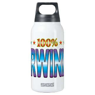 Darwinian Star Tag v2 10 Oz Insulated SIGG Thermos Water Bottle