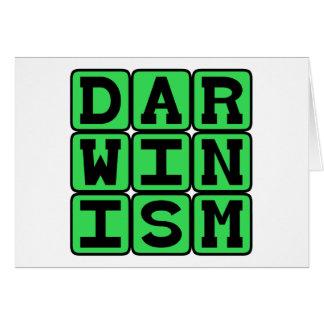 Darwinism, Theory of Biology Card