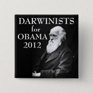Darwinists for Obama Button