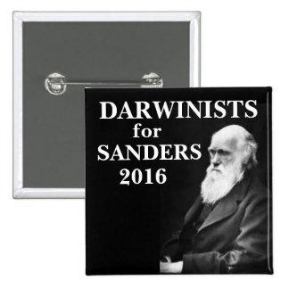 Darwinists para las chorreadoras pin cuadrado
