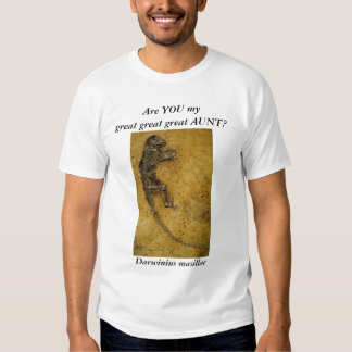 Darwinius masillae t-shirt