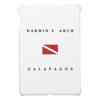 Darwin's Arch Galapagos Scuba Dive Flag iPad Mini Cases