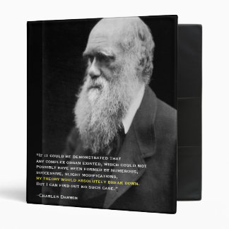 Darwin's Concession and the Bacterial Flagellum 3 Ring Binder