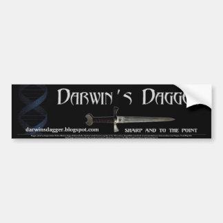 Darwin's Dagger Bumper Sticker