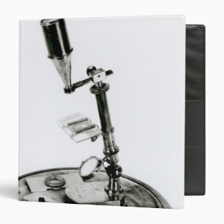 Darwin's microscope 3 ring binder