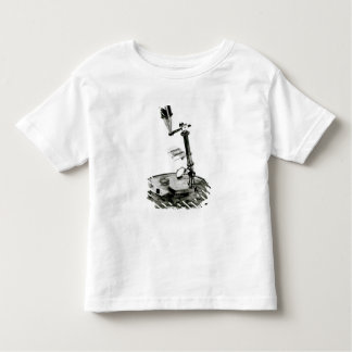 Darwin's microscope toddler t-shirt