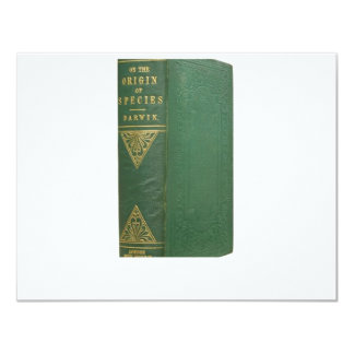 Darwin's Origin of Species 4.25x5.5 Paper Invitation Card