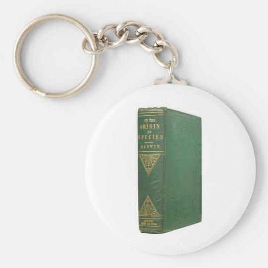 Darwin's Origin of Species Keychain