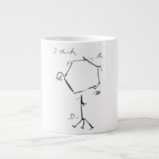 Darwin's phage 20 oz large ceramic coffee mug