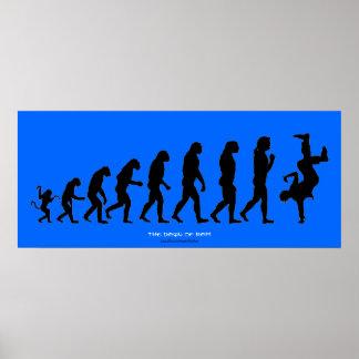 """Darwin's """"The Dawn of RAP"""" Art Poster"""