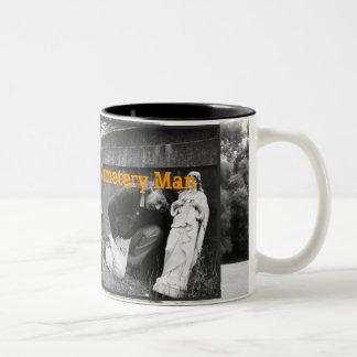 Daryl Darko - Cemetery Man Two-Tone Coffee Mug