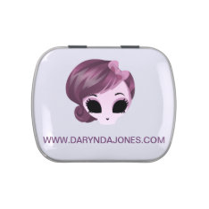 Darynda Jones Candy Tin at Zazzle