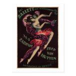 Das Ballett (The Ballet), Josef Fenneker Postcard