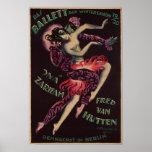 Das Ballett (The Ballet), Josef Fenneker Posters