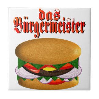 das Burgermeister Azulejo Cuadrado Pequeño