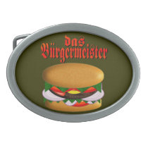 das Burgermeister Belt Buckle