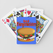 das Burgermeister Bicycle Cards